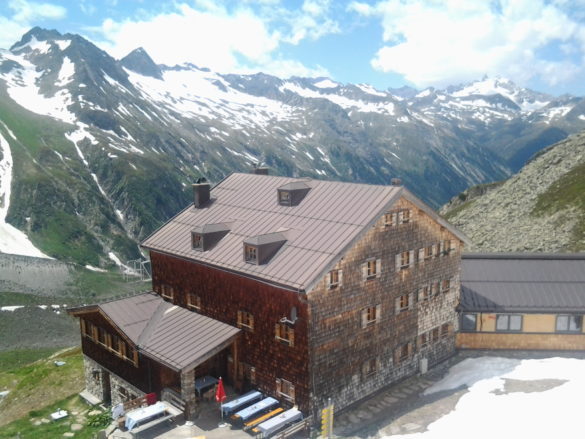 Chata Warnsdorfer Hütte