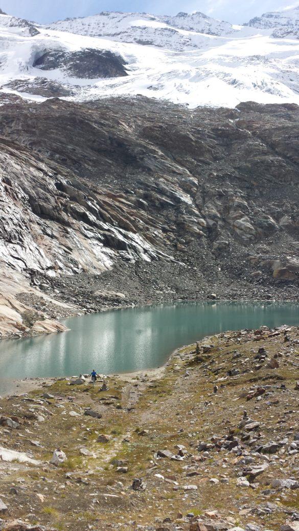 Ledovcové jezírko Eissee
