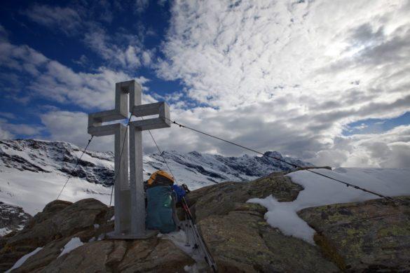Gamsspitzl - vrcholový kříž