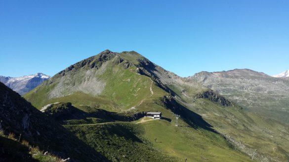 V popředí vrcholek Tischkogel