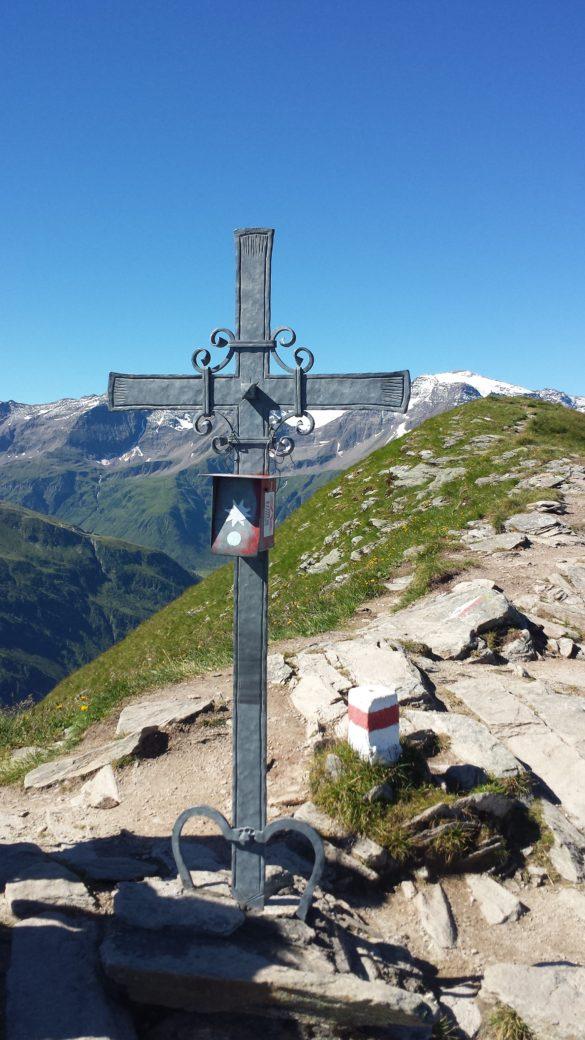 Vrcholový kříž na Tischkogel