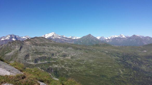Výhled z Zitterauer Tisch na Vysoké Taury