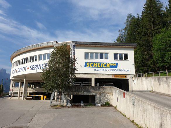 Spodní stanice lanovky SCHLICK 2000