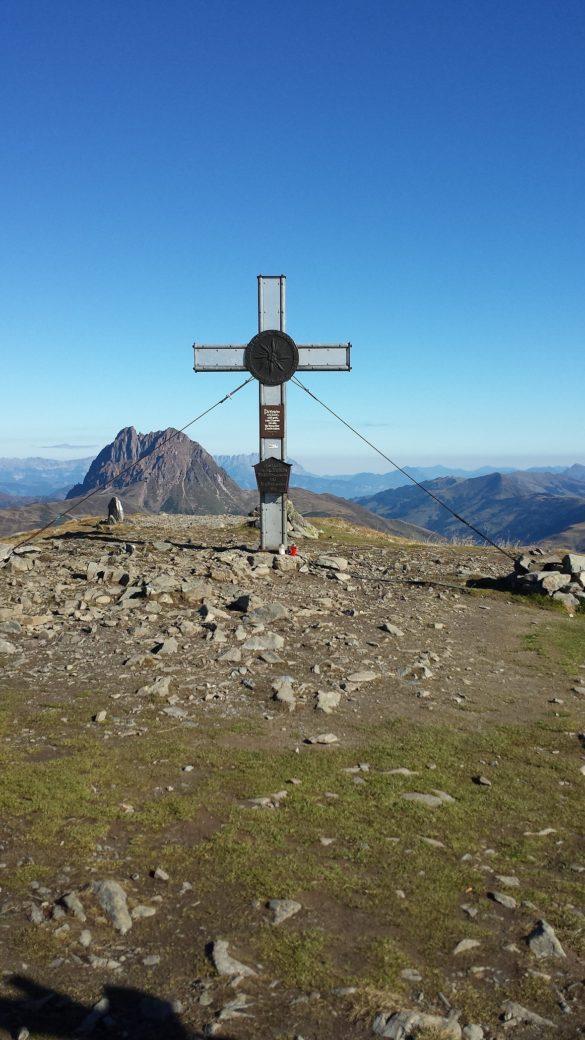 Wildkogel - vrcholový kříž
