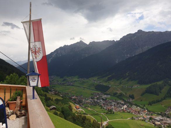 Výhled z terasy Unterkartnall
