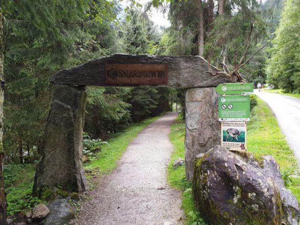 Začátek Smaragdweg