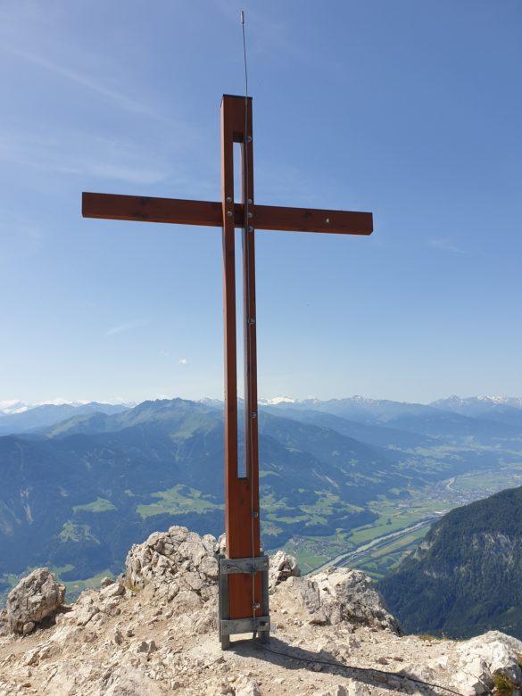 Vrcholový kříž Ebner Joch