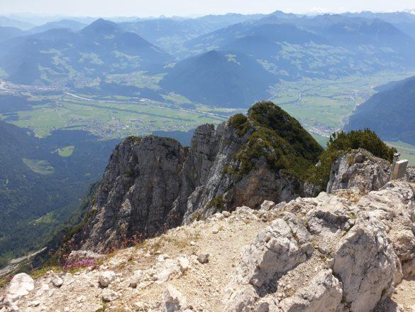 Rozhled z vrcholu