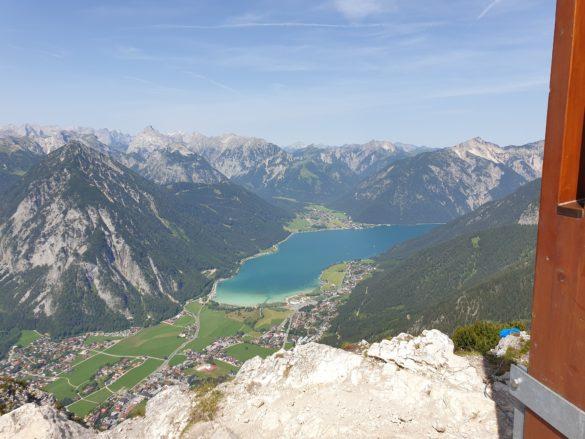 Achensee z vrcholu